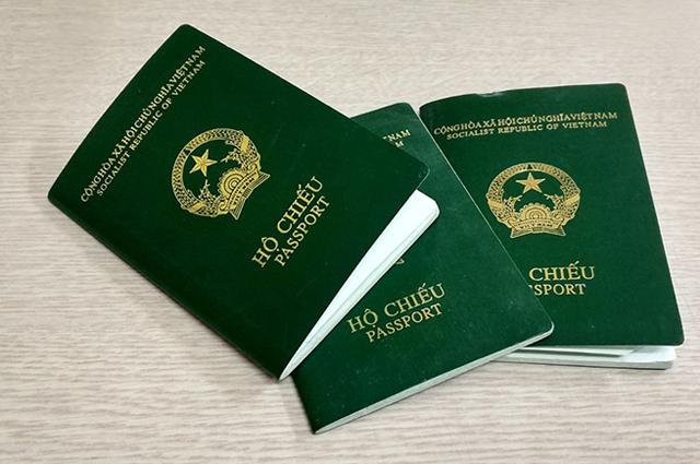 tiền làm hộ chiếu là bao nhiêu