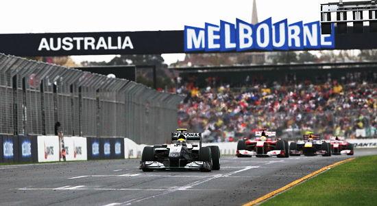 Giải đua xe công thức 1 - The Australian Grand Prix, Melbourne
